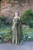 Evening dress - greek olive_01